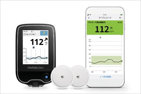リブレLinkでもっと手軽に「血糖を見える化」