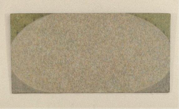 遊技場 / Recreation Ground  45.5×91.0cm  oil on wood