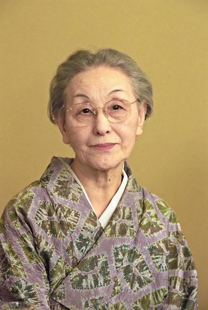 篠田桃紅さん107歳大往生 名画・名言