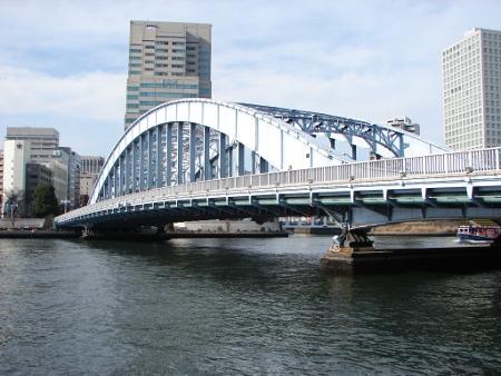 隅田川のリスクは永代橋