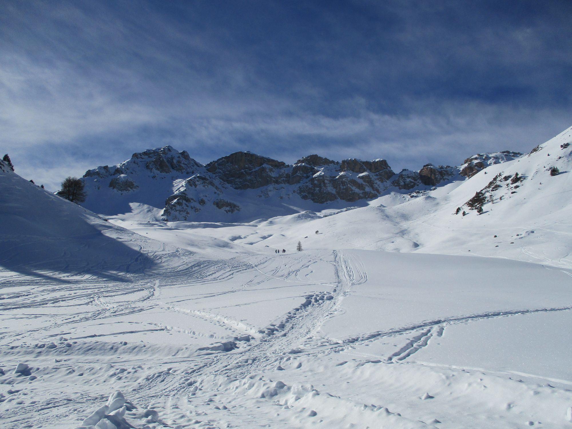 janvier 2017 vers le Col d'Izoard