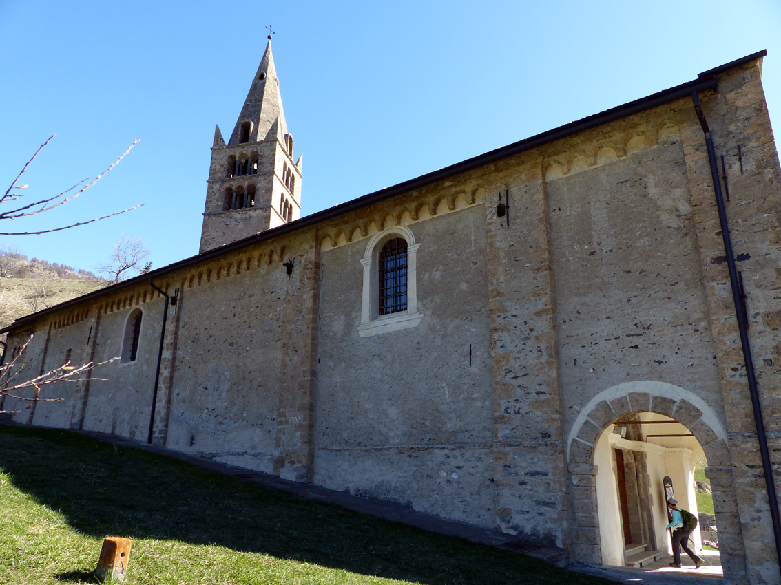 avril 2017 Chapelle de Champlan Italie