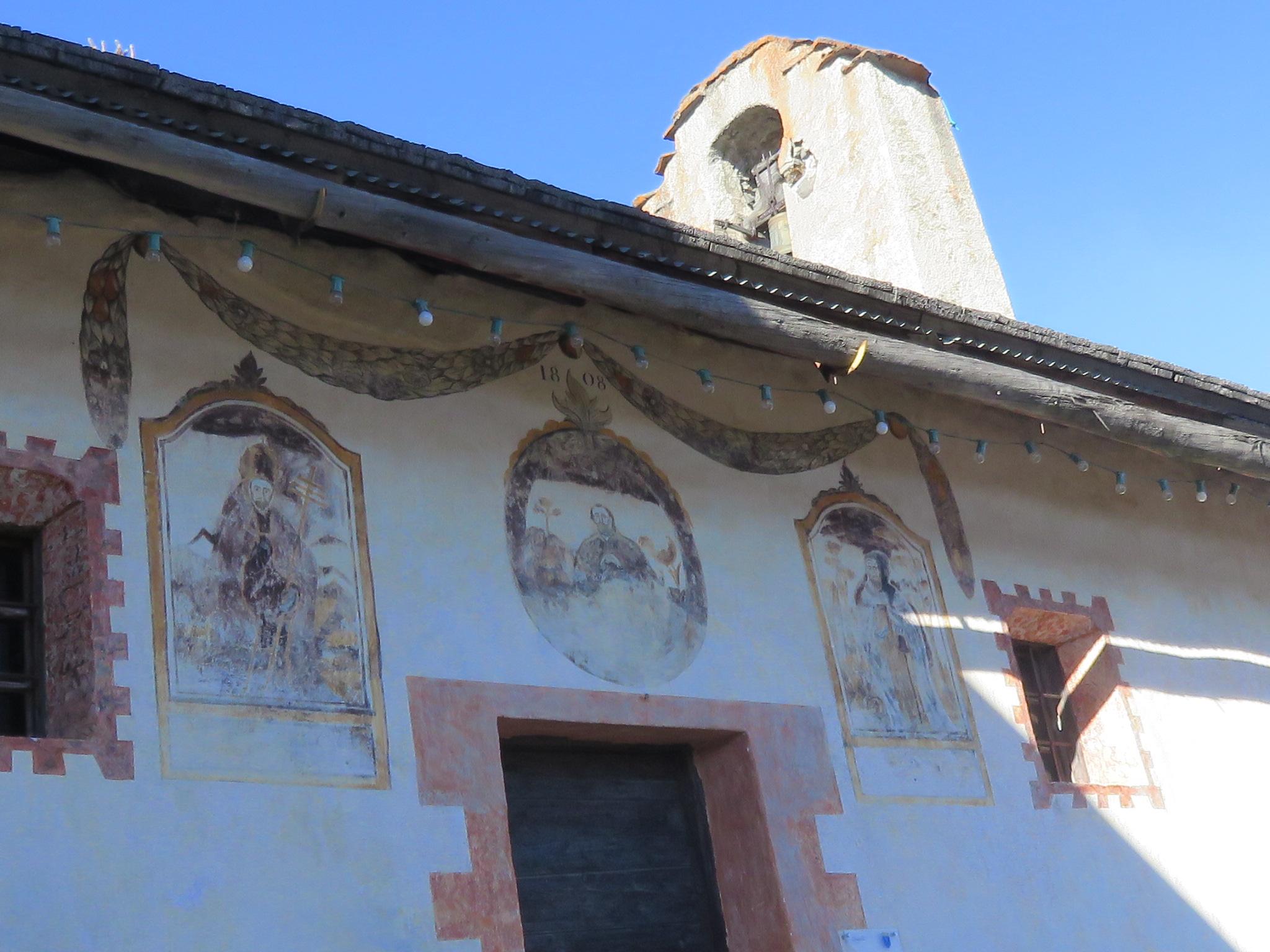 janvier 2017 la plus belle chapelle du département (Saint Sixt) à Puy Richard