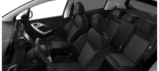 intérieur Peugeot 208 féline