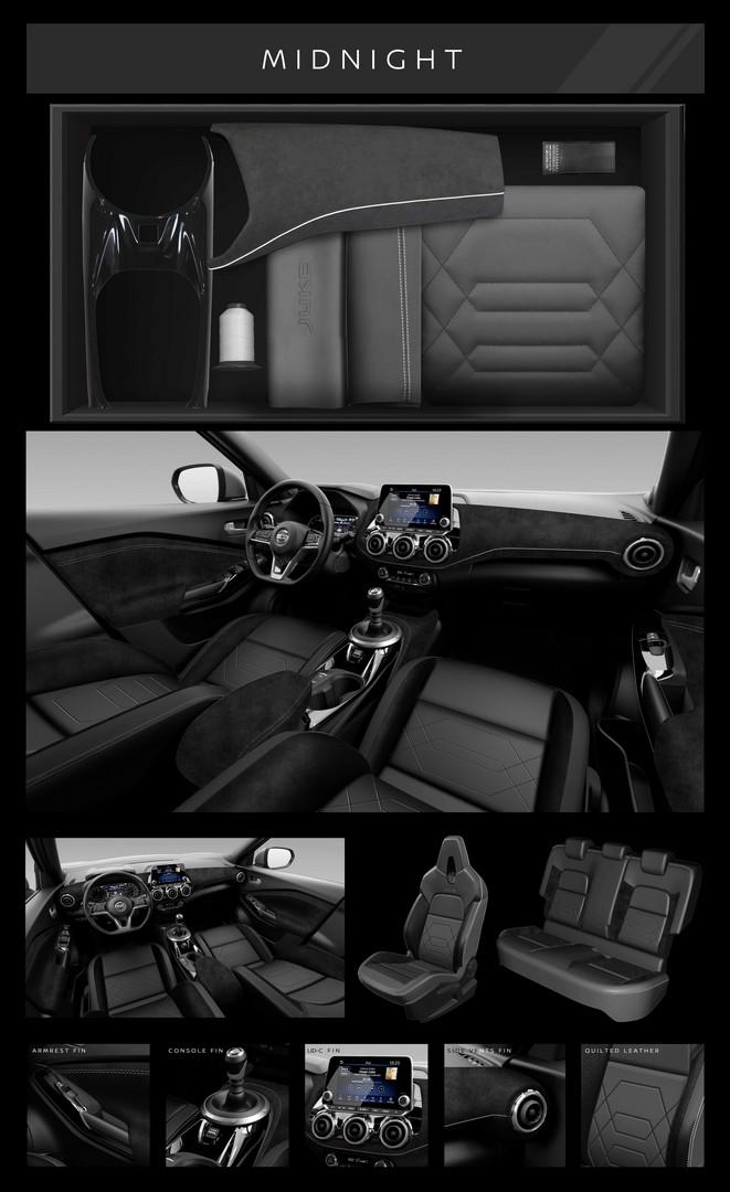Nissan JUKE N-DESIGN noir cuir/alcantara France 2019