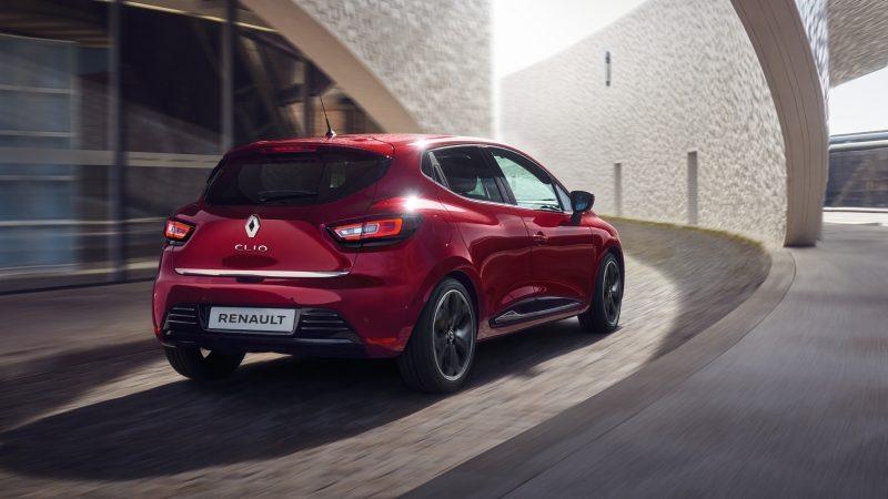 Renault Clio INTENS avec jantes diamantés en option à 300€