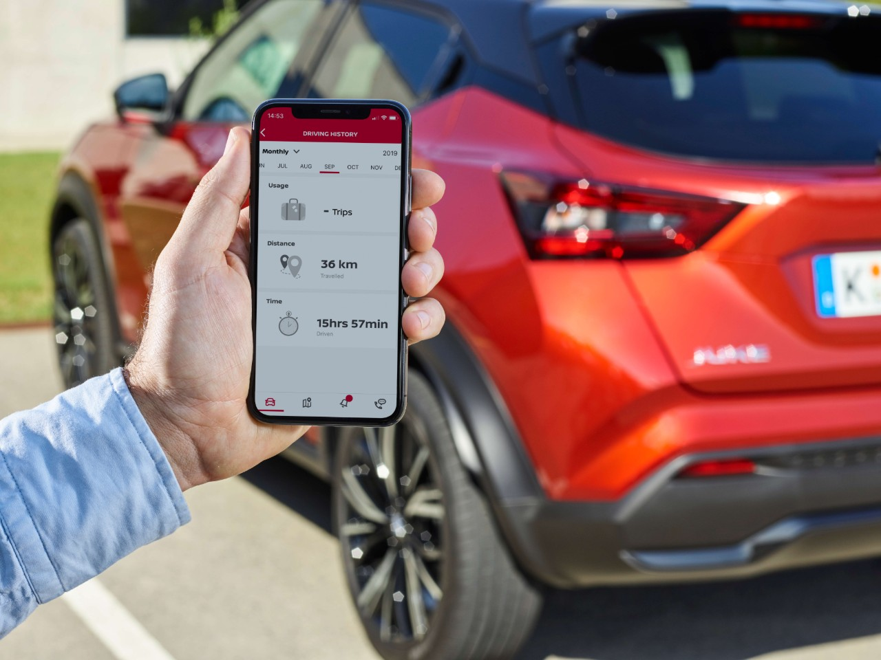 NISSAN JUKE 2020 nissan connect services