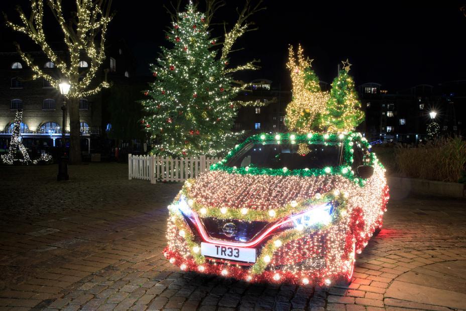 Nissan Leaf de Noël 2019