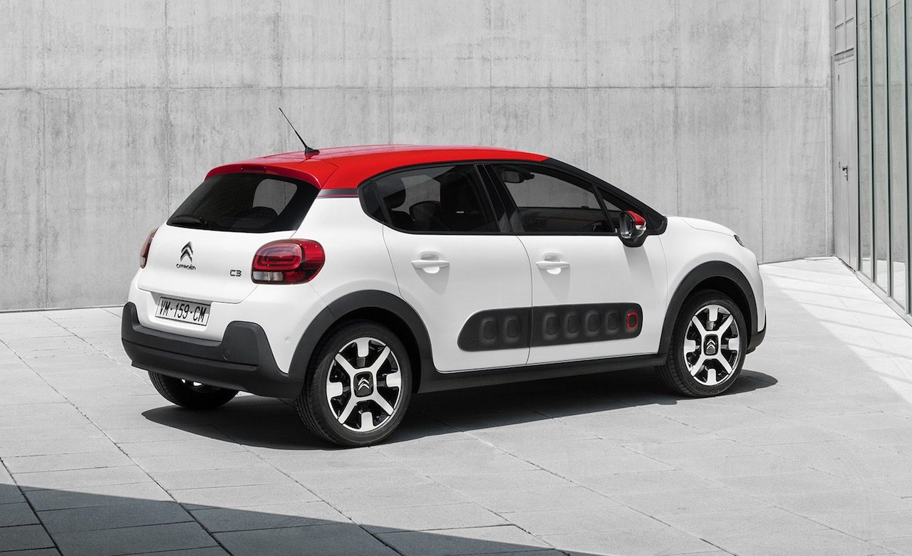 Citroën C3 SHINE avec jantes alliages en option à 500€