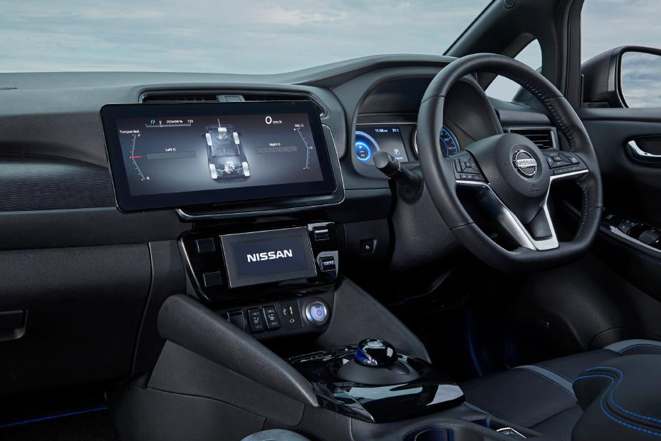 concept Nissan Leaf e+ transmission intégrale Octobre 2019