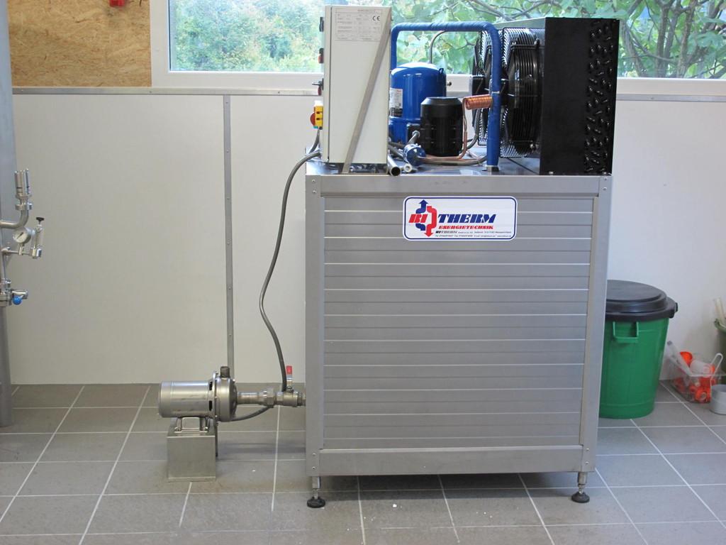 Eiswasserspeicher - Kühlanlage