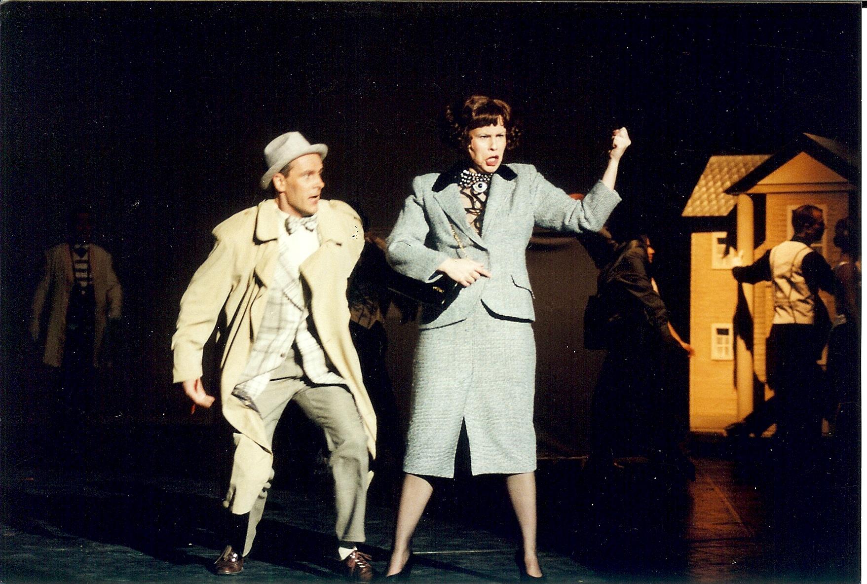 """Liz in """"High Society"""" mit Christoph Reiche, Landestheater Neustrelitz (Herbert Krüger)"""
