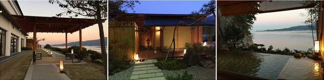 旅館・ホテルの露天風呂・造園工事
