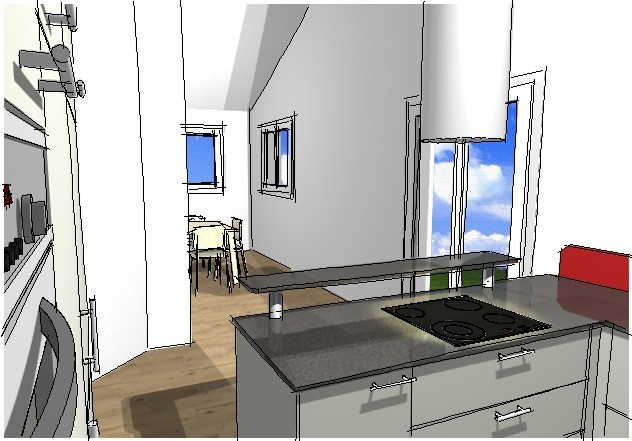 Küchen-Entwurf