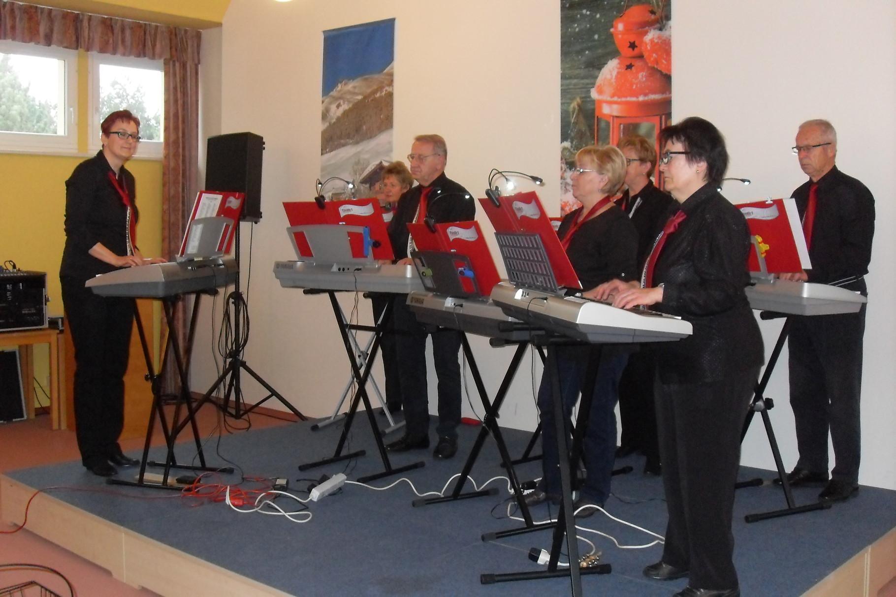 Neujahrskonzert 2016 in einem Coswiger Seniorenheim