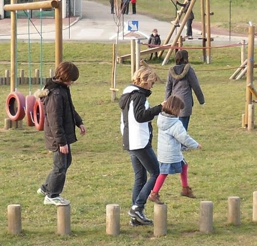 parc pour les enfants