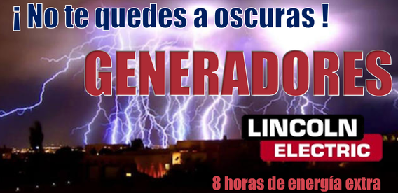 Generadores Lincoln Electric