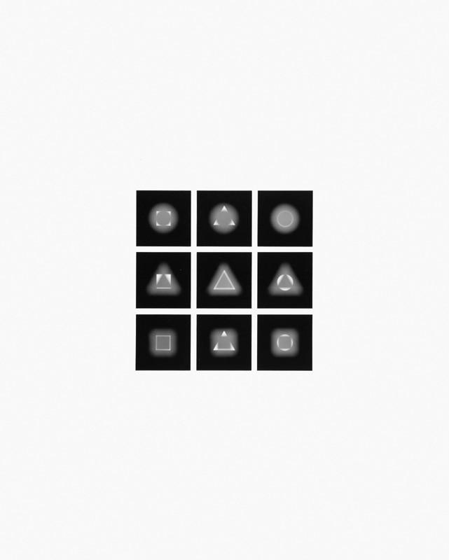 Mechano optische Untersuchung Serie 17.1975. 50 x 40 cm