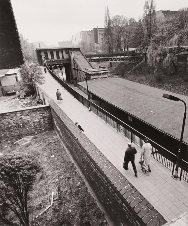 S-Bahnhof Schönhauser Allee, Greifenhagener Brücke, 1976