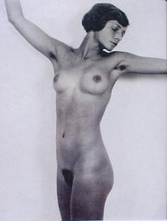 Frantisek Drtikol: Untitled, 20 x 24 cm, 1929 - Vintage
