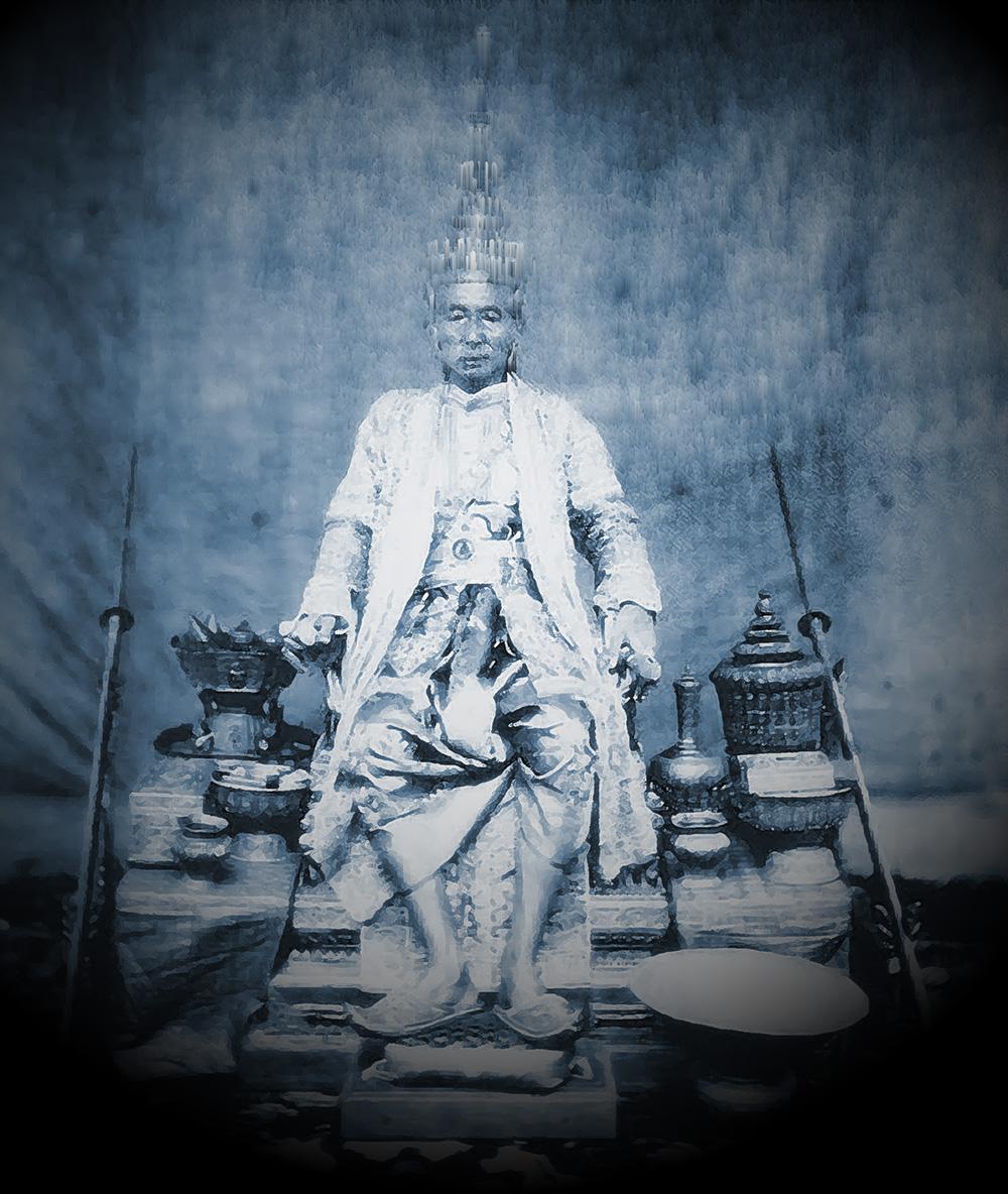 Portrait of King Rama IV, Bangkok 1865