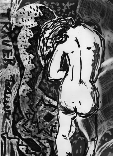 Angst essen Seele auf 5, 2008, Unikat