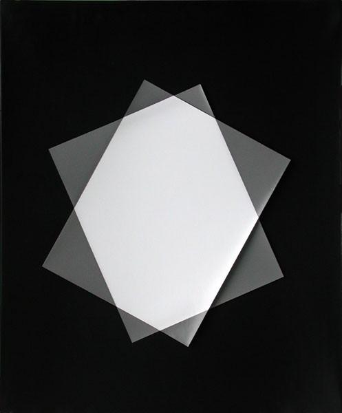 Drüber und drunter. Fotopapier XXXVIII, 2000. 60 x 50 cm