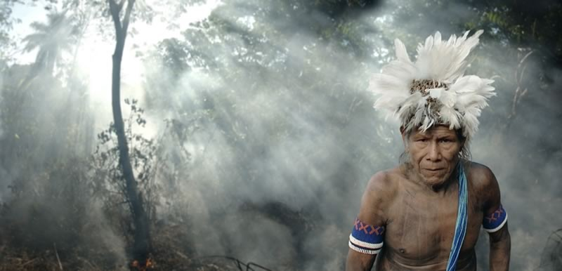 ANTONIO BRICEÑO: Botoque. Owner of fire. Kayapo culture, Brazil. 2006