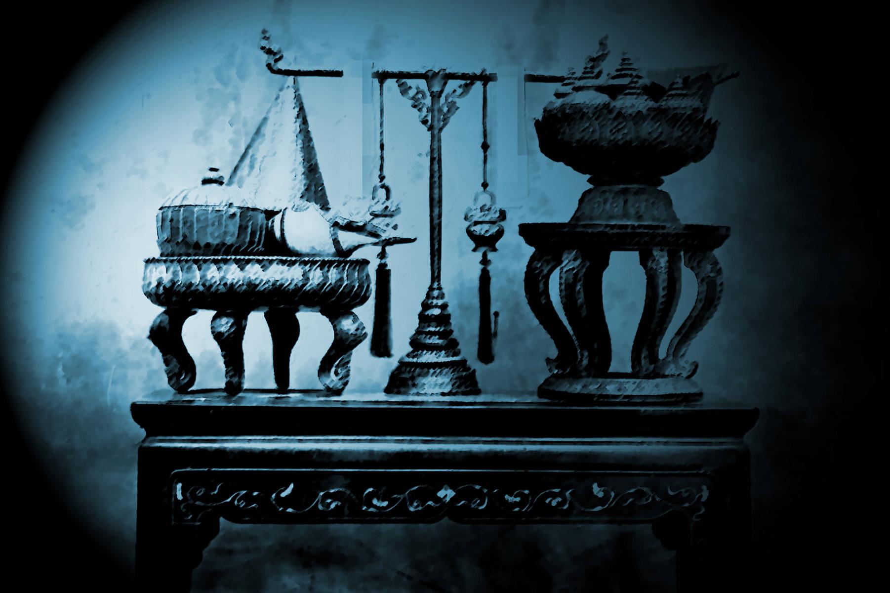 Royal Perfume table