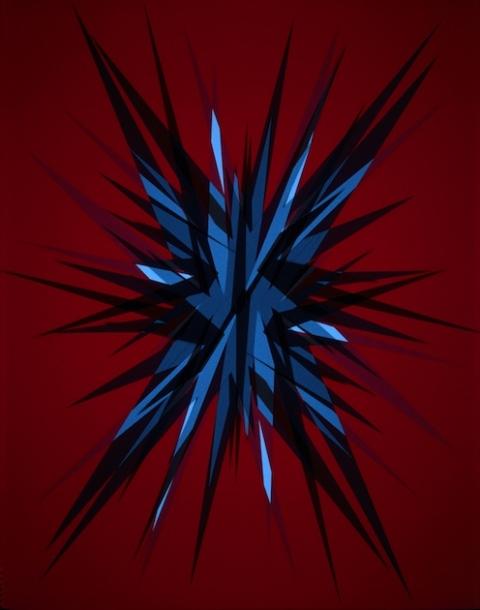 Attractor, 2005. 200 x 160 cm