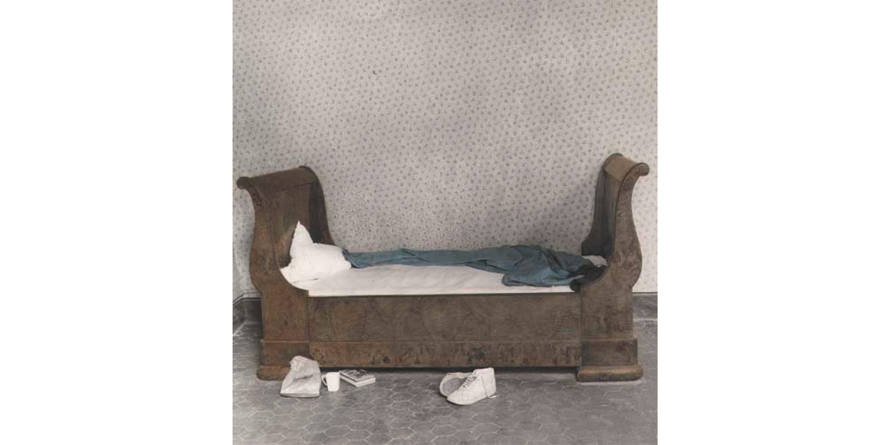The bed, 7 rue Balechou, Arles, 1981