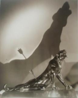 Jaroslav Rössler, Paris (Jaguar mit Pfeil), 1930 - Vintage