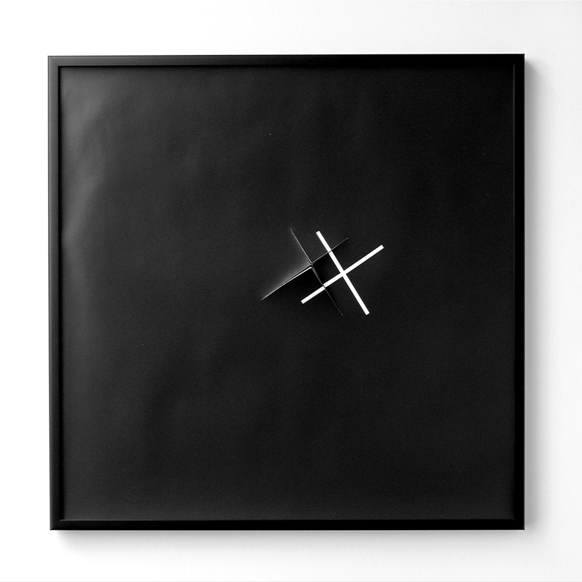 Doppelkreuz-Fotopapierarbeit IX, 1996