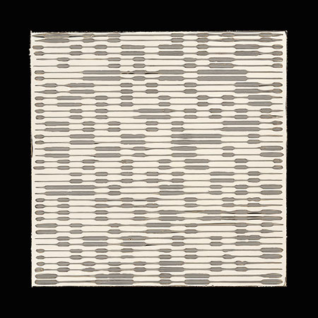 "PIERRE CORDIER & GUNDI FALK.Chimigramme 18/9/13 ""Twin"", 2013. Chemigramm. Unikat. 50 x 50 cm"