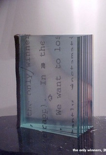 Suzanne Pastor: The only winners, Glasbuch, 2002