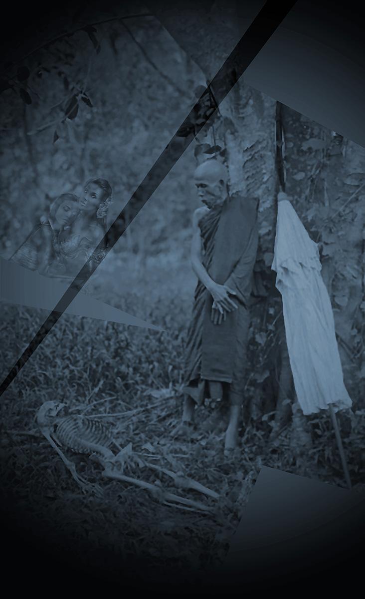 Abbot wat phra phutthabat saraburi. Life between praying, transience and desire