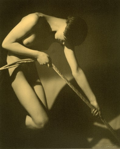 Woman with rope, c. 1928