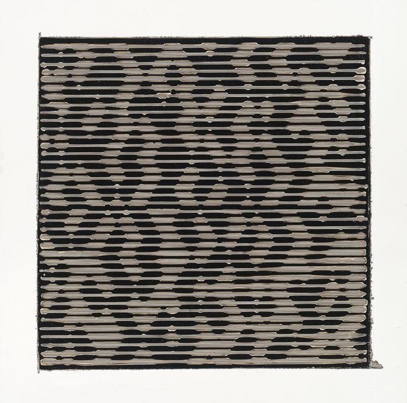 "PIERRE CORDIER & GUNDI FALK.Chimigramme 16/10/13 ""Twin"", 2013. Chemigramm. Unikat. 50 x 50 cm"