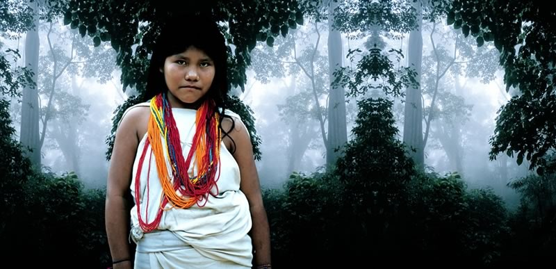 ANTONIO BRICEÑO: Kalavia. Owner of forest, Kogui culture, Colombia. 2004