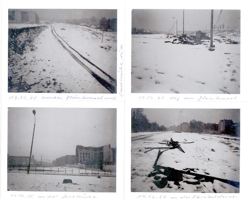 Manfred Paul - Serie: Polaroids, Ostberlin 1989-90, je 8,2 × 10,8 cm