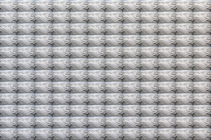 P3, 2011. 144 landscapes series. Ink print on 2 mm flexible metacrylate. 133 x 200 cm