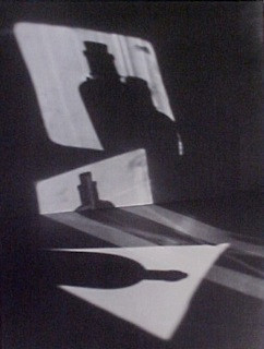Jaromir Funke: Composition (bottle shadows), 1927 / 1995 Part of portfolio