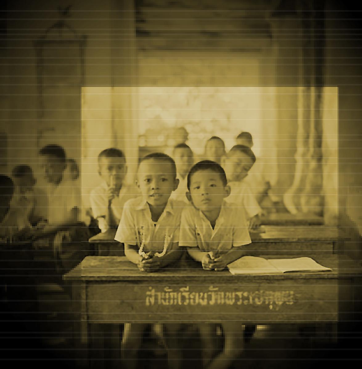 Precocious boys. Bangkok