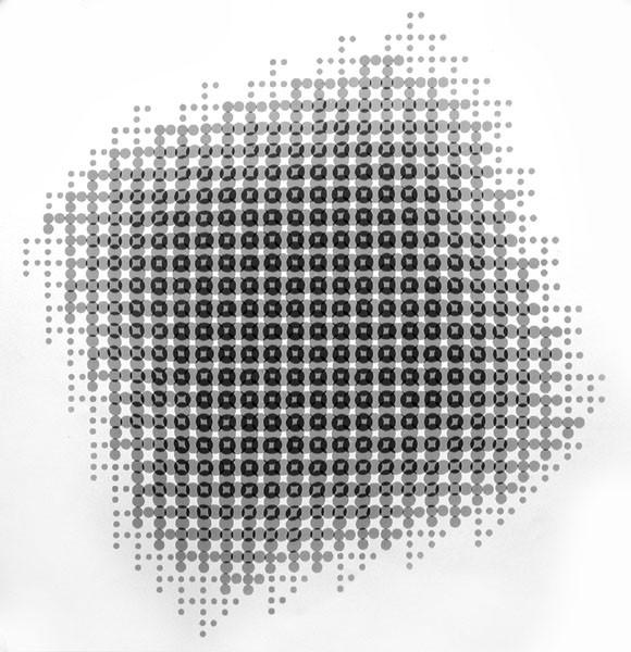 Lochblendenstruktur-3.8.14  B2.6, 1967