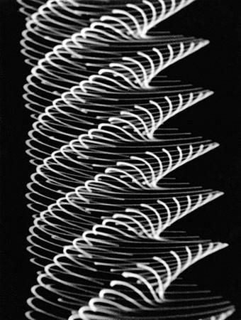 HERBERT W. FRANKE. Pendeloszillogramm, 1955