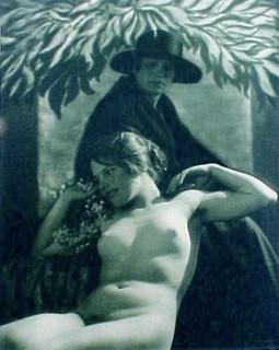 Frantisek Drtikol: Der Tod und das Mädchen, 1924  - Vintage