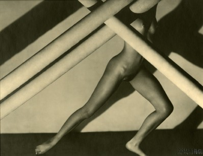 Composition (Standing nude with crossed poles), 1929/1996