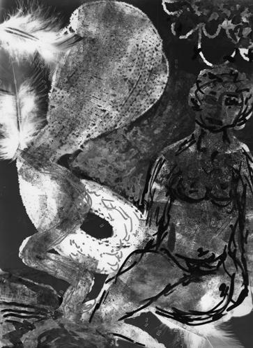 Angst essen Seele auf 4, 2008, Unikat