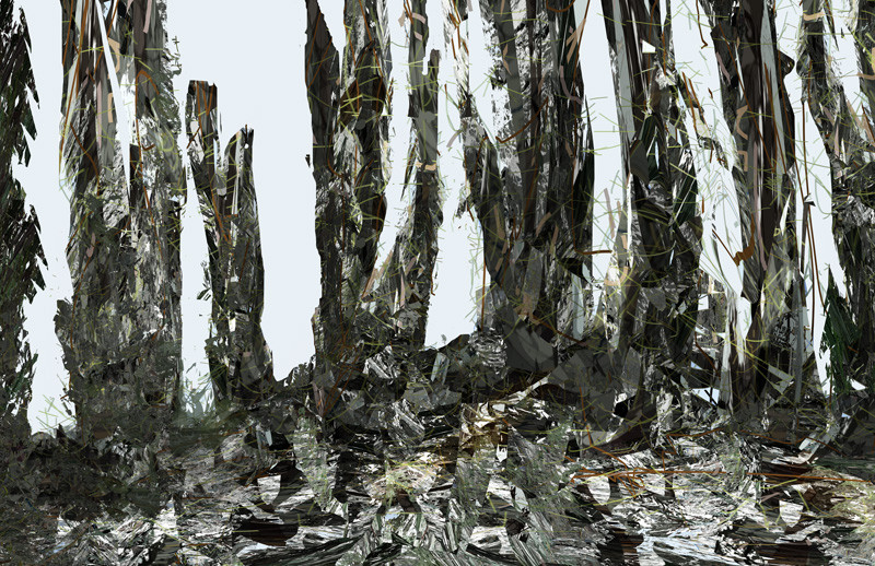 Forest , 80 x 120 cm, 2011