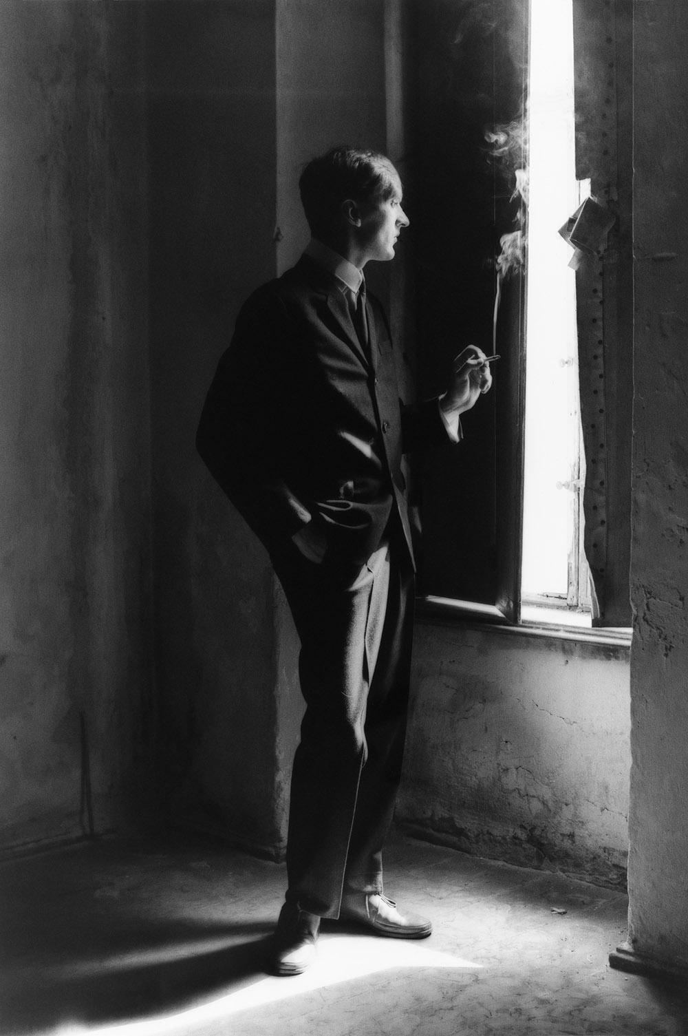 Matthias Leupold - Am Fenster 1983 85 x 50 cm